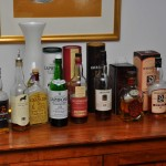 8 gangen met whiskey