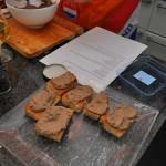 Crostini's met kippenleverspread