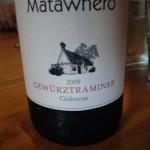 Matawhero gewurztraminer 2009
