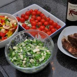 lavendellam en salades