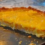 lemon curd-taart